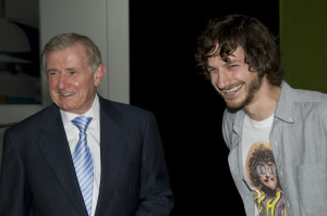 The Honourable Simon Crean MP and Gotye
