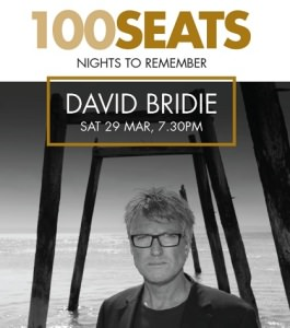 Poster for 100 Seats: David Bridie, 2014
