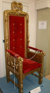 Graham Kennedy's throne