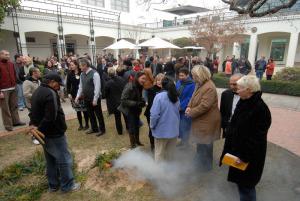 NFSA smoking ceremony celebrating becoming a statutory authority (2008)_763091
