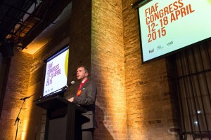 FIAF Congress 2015, April 12, 2015 - FIAF Congress 2015 : FIAF Congress 2015, Simmer on the Bay, Sydney, New South Wales, Australia. Credit: Event Photos Australia