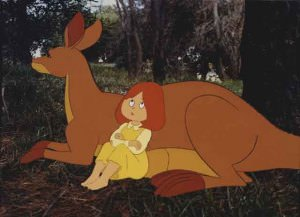 Dot and the Kangaroo 1977_animation cel_373697