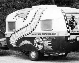Caravan promoting The Last Film Search. NFSA title: 770888